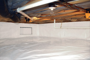 Crawl Space Repair After in Brevard
