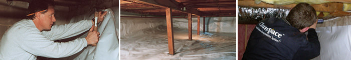 Crawl Space Repair in NC, including Cullowhee, Sylva & Franklin.